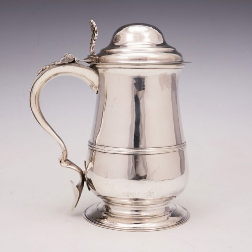 Georgian Lidded Quart Tankard 1769
