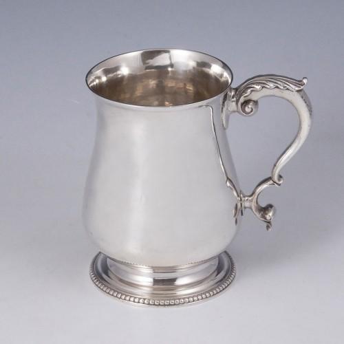 Georgian Silver Tankard London 1776