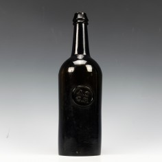 All Souls College Oxford Sealed Wine Bottle c1840