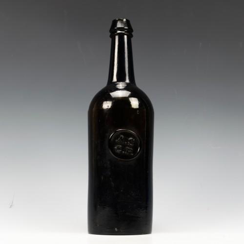 All Souls College Oxford Sealed Wine Bottle c1840