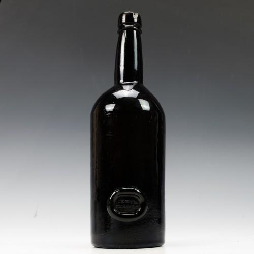 Inner Temple Sealed Wine Bottle c1820
