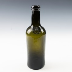 Middle Temple Sealed Wine Bottle c1830