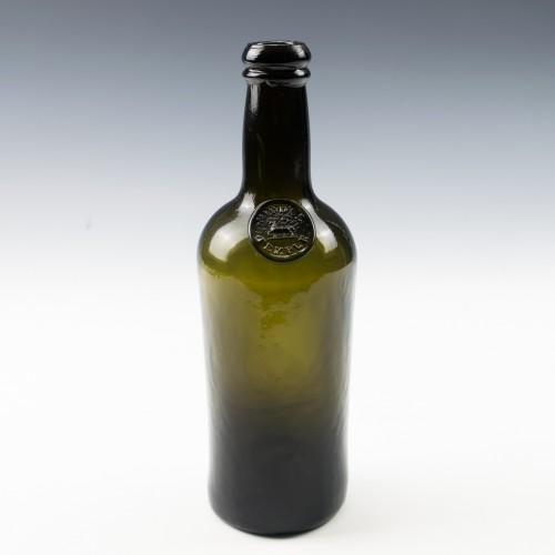 Middle Temple Sealed Wine Bottle c1830