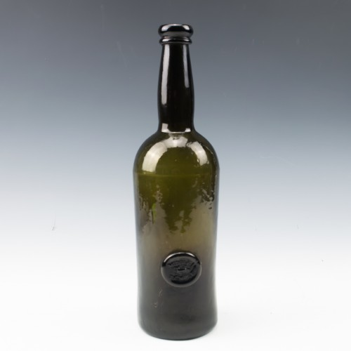Middle Temple Sealed Wine Bottle c1880