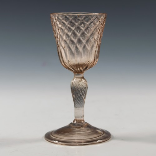 """An Early 18th Century """"Verre Pivette"""" c1725"""