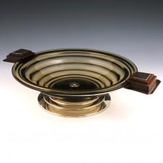 Art Deco Composite Glass Bowl c1930