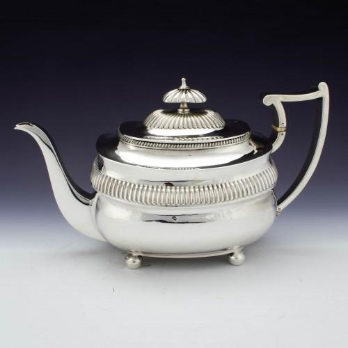 Georgian Sterling Silver Teapot London 1811
