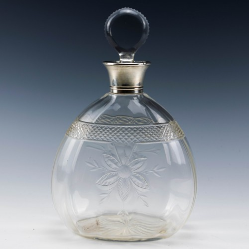 Sterling Silver Topped Decanter Birmingham 1908