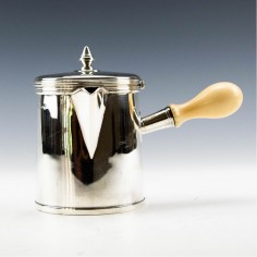 Sterling Silver Chocolate Pot London 1823