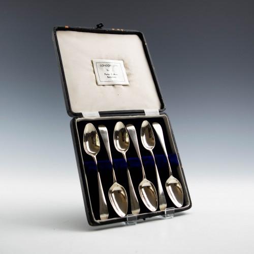 Set of Six Peter and Ann Bateman Teaspoons London 1791