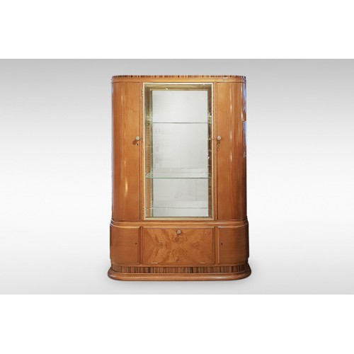 Waring and Gillow Art Deco Display Cabinet