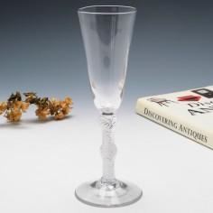 Air Twist Stem Georgian Ale Glass c1750