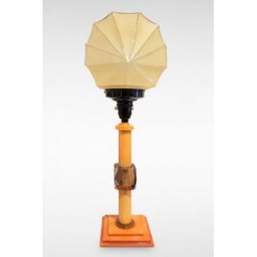 Art Deco Fan Shade Table Light c1940