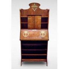 Original Arts & Crafts Bureau Bookcase c1905