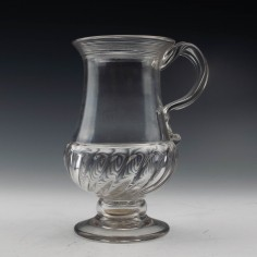 George IV Silver Shilling Coin Tankard c1825