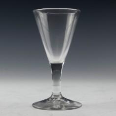 Georgian Gin Glass c1780