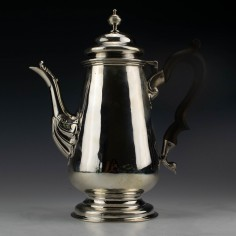 George IV Sterling Silver Coffee Pot London 1829