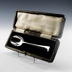 Sterling Silver Christening Spoon London 1924