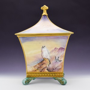 James Skerrett for Caverswall Porcelain Box and Cover
