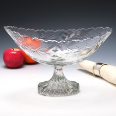 Irish Boat Shaped Bowl c1790