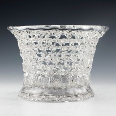 Bristol Lead Glass Traforato Basket c1780