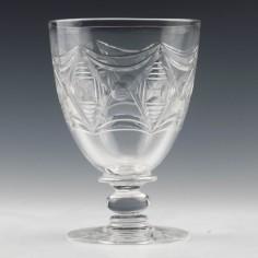 Tudor Crystal Art Deco Goblet c1935