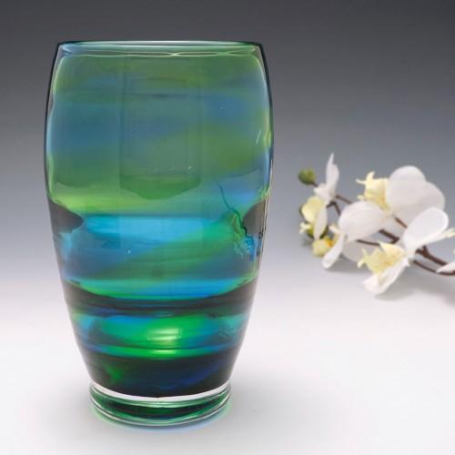 Stevens and Williams Rainbow Glass Vase