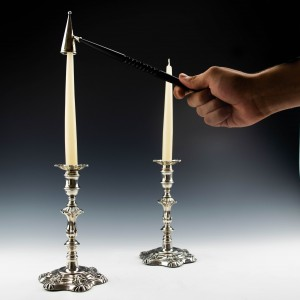 Silver Candle Snuffer London 1979