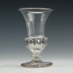 Georgian Jelly Glass with Gadrooned Base c1830