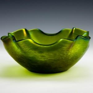 """Loetz """"Diana Ciselé"""" Glass Bowl c1900"""