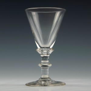 Regency Deceptive Dram Glass c1820