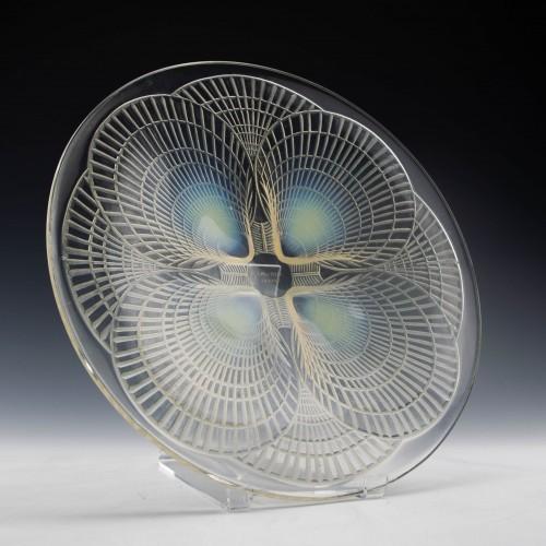 """René Lalique """"Coquilles"""" Plate c1924 - Marcilhac 3009"""