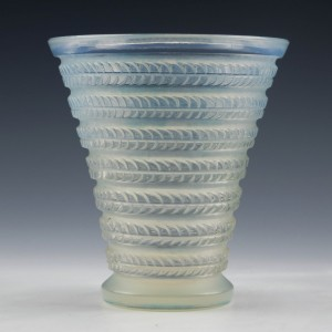 "René Lalique ""Cytise"" Vase c1926 - Marcilhac 1095"