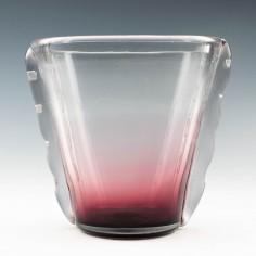 Charles Schneider Art Deco Amethyst Vase c1930