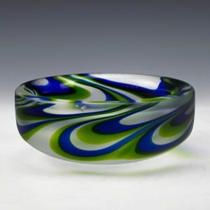 Kosta Boda Glass Dish c1975
