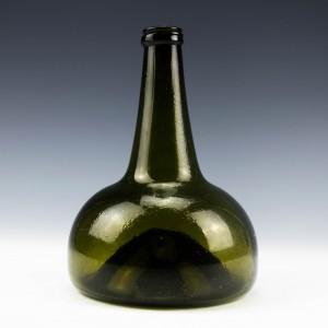 Dutch Onion Shaped Wine Bottle  c1725