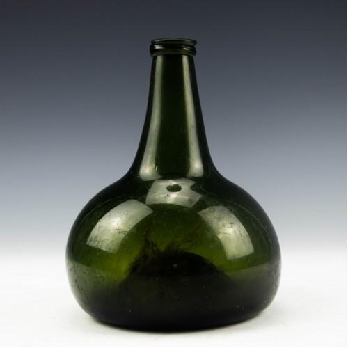Georgian Onion Shaped Wine Bottle c1725