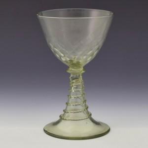 Facon de Venise Wine Glass c1900