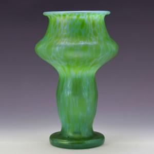 Loetz Crete Papillon Vase c1900