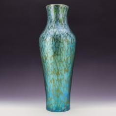 Reserved - Tall Loetz Creta Papillon Vase c1900