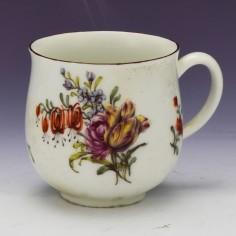 A Chelsea Porcelain Coffee cup c1755