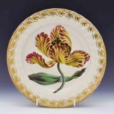 Quaker Pegg Derby Botanical Porcelain  c1795