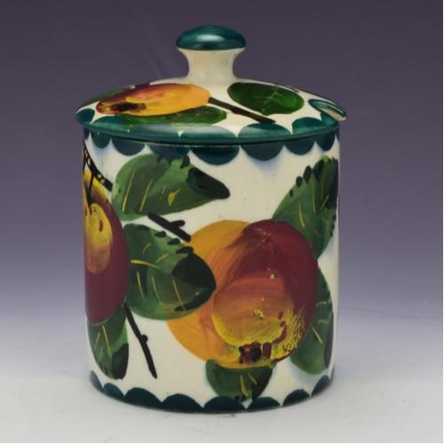 Wemyss Ware Pottery Preserve Jar c1915