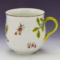 Chelsea Porcelain Coffee Cup c1755