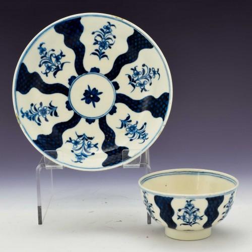 Lowestoft  Porcelain Mahomedan Patten Tea Bowl and Saucer c1775