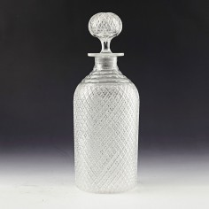 A Very Fine French Or Belgian Glass Decanter c1870
