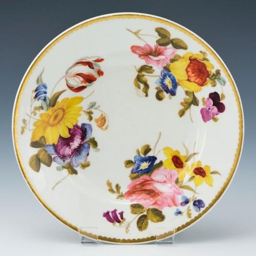 Derby Porcelain Dessert Plate c1825