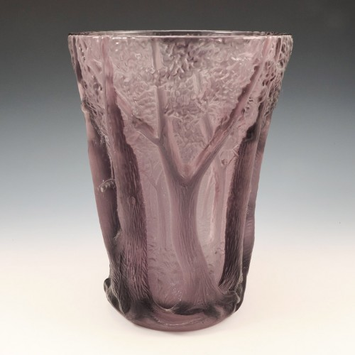 Barolac In The Forest Glass Vase Designed By Jenkins & Inwald 1931