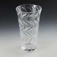 Clyne Farquharson  Leaf Pattern Vase By Reg Everton