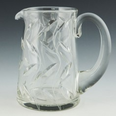 Clyne Farquharson  Leaf Pattern Water Jug By Reg Everton